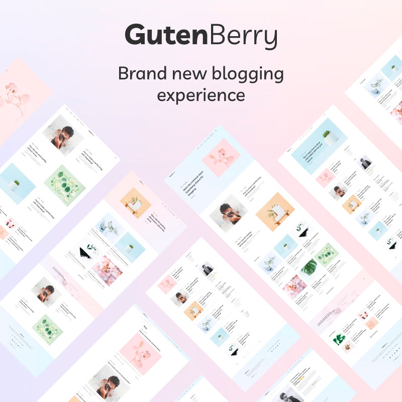 Gutenberry – Gutenberg-based Clean Blog №86977